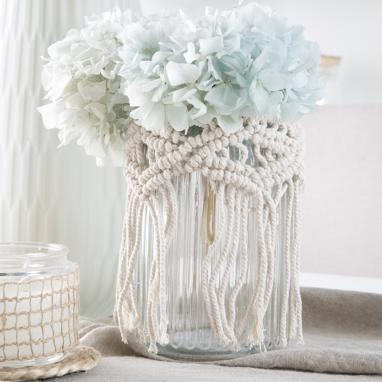 Arej crystal cotton candleholder