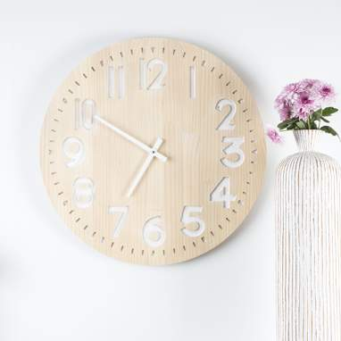 Rabb wood wall clock