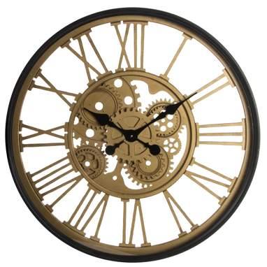 Zhar wooden gear wall clock