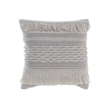 West beige cotton cushion