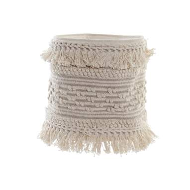 Good beig cotton basket