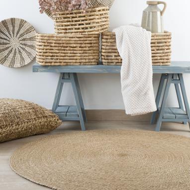 Fiest natural fibre rug