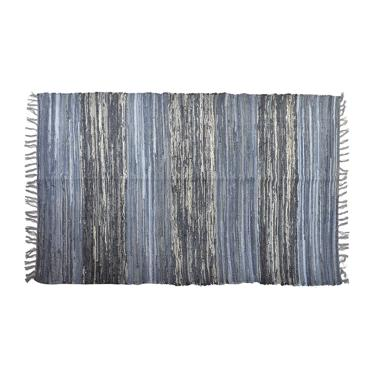 Mika cotton denim rug