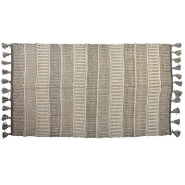 Cise beige cotton jute rug
