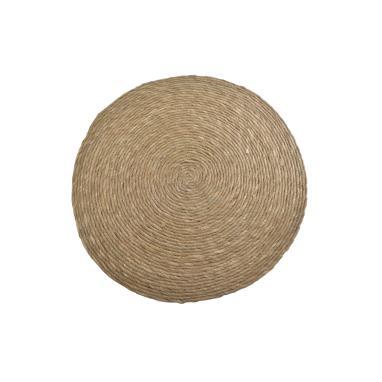 Siela alfombra fibra 65x65 natural