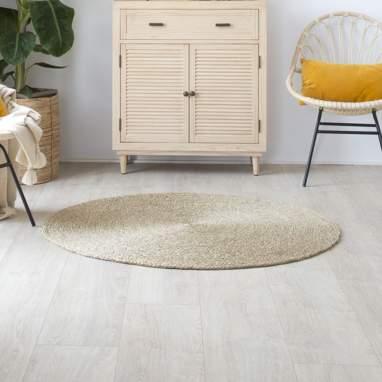 Dula alfombra fibra 120x 120 trenzado