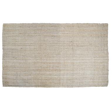 Arty natural jute rug