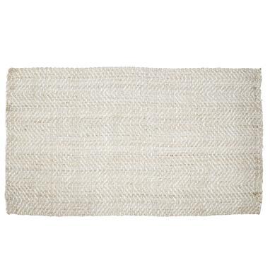 Sofe alfombra jute 120x180x 1,5 zigzag natural