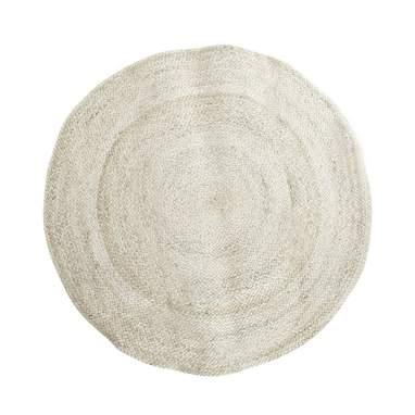 Yuti plaited fibre rug
