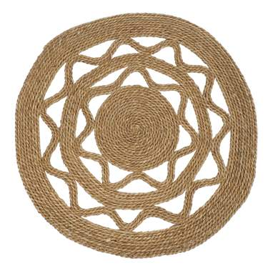 Larb natural seagrass rug