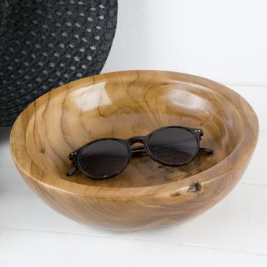 Wase natural wooden bowl