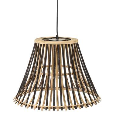 Kelter suspension noir-naturel bambou