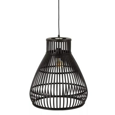 Lisen black bamboo lamp