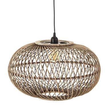 Desie natural rattan lamp