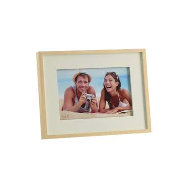 Retie cream natural wooden frame