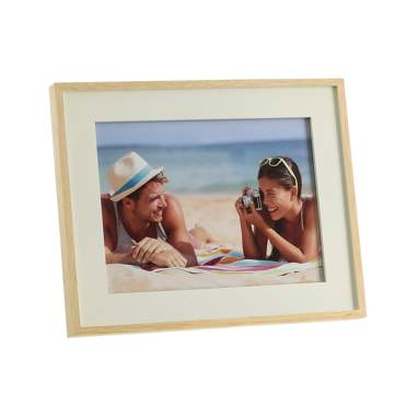 Nirt cream natural wood frame