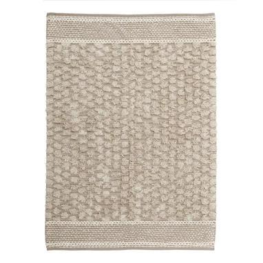 Nika grey cotton rug