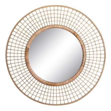 Yepal natural bamboo mirror