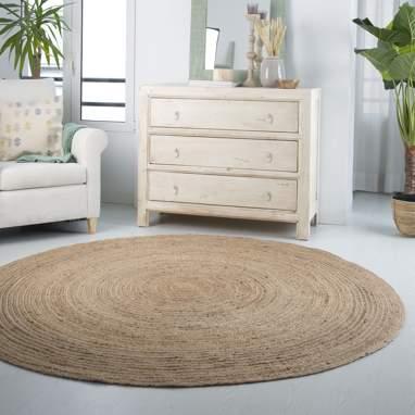 Naje alfombra natural yute