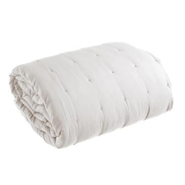 Gono beige microfibre bedspread