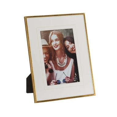 Seik metal/crystal photoframe