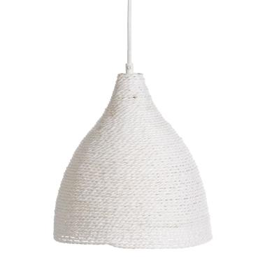 Elef suspension beige corde en papier