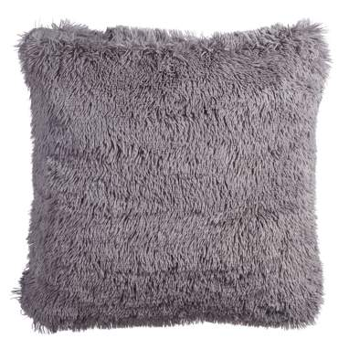 Coussin gris claire polyester