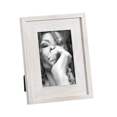Rino white wood photoframe