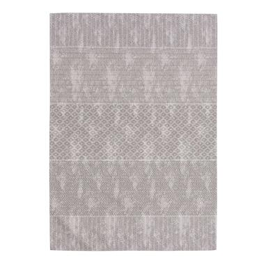 Nuri grey cotton rug