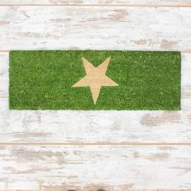 Starg tapete de entrada estrela verde 70x25