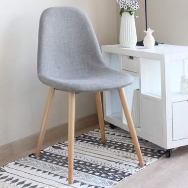 Wile cadeira madeira cinza