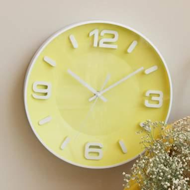 Xeir relógio amarelo-branco d.33 cm