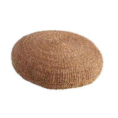 Kils rush natural floor cushion