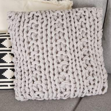 Ulik mole crochet cushion