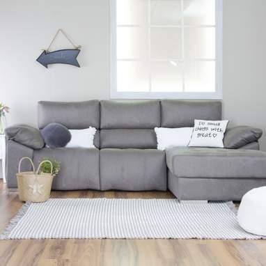 Milano sofá relax eléctrico tela