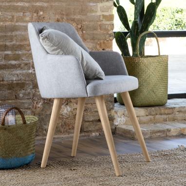 Marlon sillón patas natural