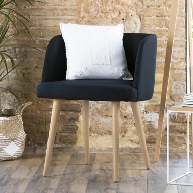 Bogart sillón patas natural