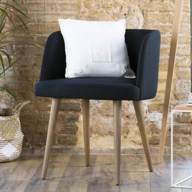 Bogart fauteuil pieds taupe