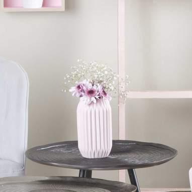 Julen vaso porcellana rosa
