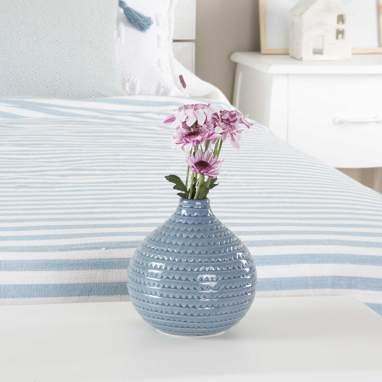 Bima jarra cerâmica azul