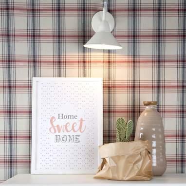 Planche avec cadre home sweet home a4
