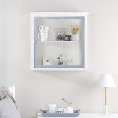 Nordic vitrina de parede