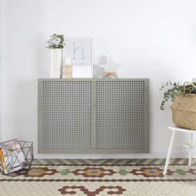 Nordic cover for radiator 116.5cm