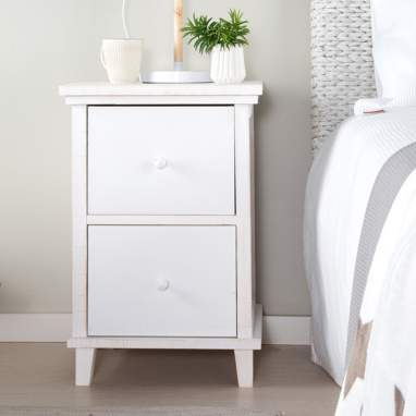 Fiord night stand 2 drawers