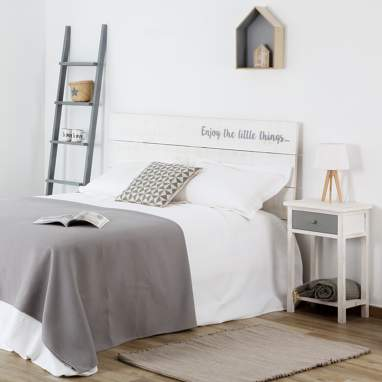 Nordic testiera letto 135/150 enjoy the little things...