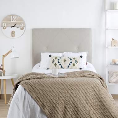 Loira tête de lit tapissée h75cm