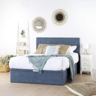 Niemen lift-up storage bed
