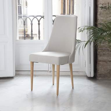 Elisa beige chair