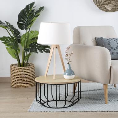 Lure lampe table 62h naturel