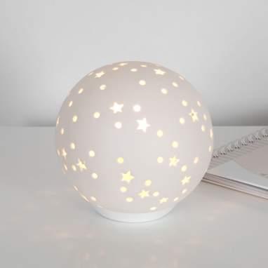 Saly lampada ceramica stella